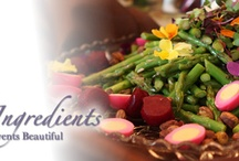 Menus & Recipes / Fresh Ingredients - Made from Scratch Dishes...Whether your event is for 20 or 2000, Scarborough Fare Catering provides wonderful food, great service, beautiful linens, glassware, china, tables, tents, and bartending. We enjoy working with clients to design menus. / by Allison Thomas