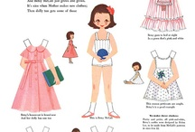 Paper Dolls and Toys ♡