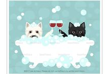 Lee ArtHaus Cairn Terrier Prints