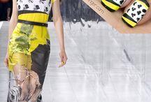 Textile Inspired Manicure / Manicure inspirowany tkaninami / Przedstawiamy zbiór inspiracji na manicure z wykorzystaniem wzorów tkanin, takich jak pepita, krata, paski :)