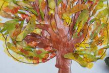 plastyka jesień