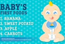 Baby's First Foods. / Nutritional And Tasty First Foods That You Can Feed Your Baby.