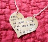 Handstamped Jewelry / by The Art of Kristen Feighery