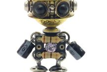 electronic parts robot