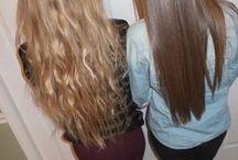 Long hair  / A must