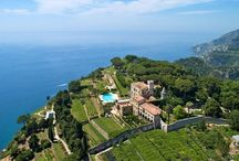Villa Cimbrone / Wedding ceremonies and sit-down receptions at Villa Cimbrone, Ravello organized by Exclusive Italy Weddings