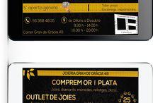 Joieria Gran de gracia 49 / Diseño gráfico para Joieria Gran de gracia 49 para cartel de navidades.