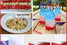 Red, White & Blue Foods / Our favorite foods with an Americana Twist