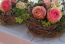 floral nests