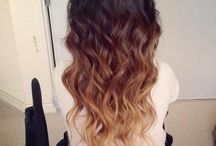 Cute hairstyles and haircolors / by Alicia Lafontaine