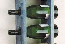 Şarap rafları