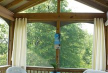 New screened in porch / by Heather Kindschy