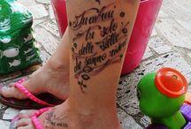 Tatuaggi / Anche i babbi e le mamme amano i tatuaggi.  Vacanza a Milano Marittima