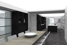 INTERIEUR_kamer-en-suite / Door het plaatsen van een stijlvolle afscheiding tussen twee ruimten, krijg je twee ruimten die afzonderlijk of samen gebruikt kunnen worden.