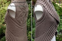 Вязание ; жилет