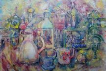 Irina Rej oil on canvas art