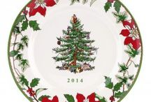 Spode Christmas Tree 2014 Introductions / Find all the new 2014 Spode Christmas Tree Introductions at www.giftcollector.com