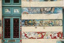 Muros y fachadas