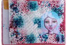 Art Journal Spreads / For the love of art journalling. Fun, joyful bliss art making in yummy journals. Healing self transformation in creating.