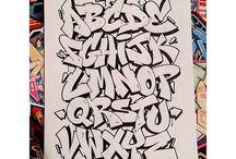 Alfabeti graffiti doppi