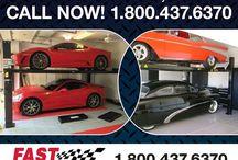 FAST Classic Sports Car Storage - CUSTOM DREAM GARAGES / Classic Sports Car Storage - CUSTOM DREAM GARAGES FAST  800-225-7234
