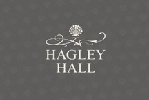 Hagley Hall / Capturing the history and heritage of the enchanting venue that is Hagley Hall, Source capitalised on the distinct 'scallop' icon to create a romantic and timeless identity.