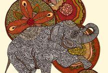 Elephants / by Kieran Kleman