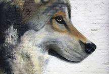 Street art/fan art/speed art