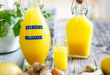 Frukost shot och smoothie