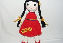 My Products / Crochet toys, miniature, amigurumi, Disney characters, art dolls, keychains