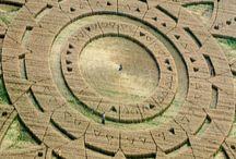 Kręgi zbożowe.Crop circles