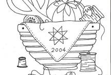 dibujos costura