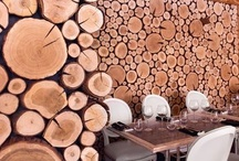 Crêperie bois rond