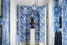 ~ Blue & White ~ / by Melissa Forinash
