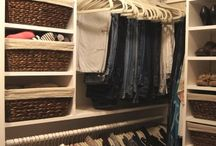closet organization / by Courtney C