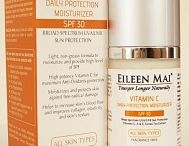EILEEN MAI® Facial Sunscreen & Moisturizer / Moisturizers hydrate and soften skin. Even oily skin needs a light moisturizer to maintain softness and suppleness. Select from a range of our moisturizers created for specific skin types and conditions.