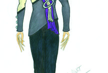 // custom costume sketches // / Color Guard, Marching Band and Percussion custom designs by Joe Heininger. Made by AWCT.