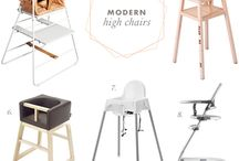 High chair / Modern baby high chair
