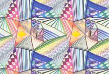 elementary art - pattern / by Laine Van