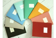 obsession / pretty colored stationary