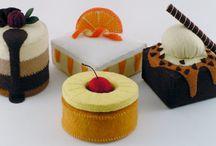 felt foods - cakes