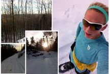 Snowshoe Running and Racing / Snowshoe running is a great way to get outside in the cold and snow. No need for a treadmill to stay fit over the winter!