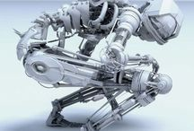 MECH &  ROBOT / by Capcom Kai
