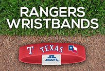 Texas Rangers MLB Wristbands and Fan Gear / Shop for Texas Rangers MLB wristbands and fan gear. Find your teams MLB bracelets and gear at Skootz! http://www.skootz.com/