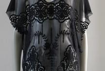 Gothic swimwear