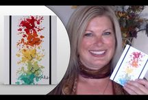 tami white butterfly cards video / by Lavinia Dow