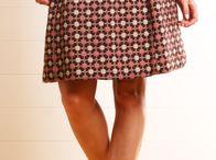 blouse, skirt, trousers