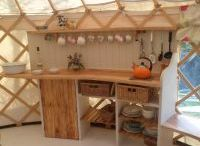 Belle Tetns & Yurts / If you're looking at kitting out a belle tent or a yurt, there's lots of inspiration here!