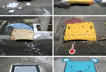 """Urban Interventions / On this board the best and most creative urban intervention !!! / by ISRAEL """"MaRvInBoY"""" Brito"""
