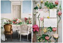 All the tender things / Pink, flowy, light-textured, flowery wedding stuff. Major inspiration for the refined details or just sweet weddings